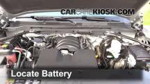 2014 GMC Sierra 1500 SLE 4.3L V6 FlexFuel Crew Cab Pickup Battery