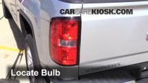 2014 GMC Sierra 1500 SLE 4.3L V6 FlexFuel Crew Cab Pickup Lights