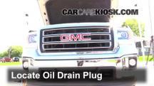 2014 GMC Sierra 1500 SLE 4.3L V6 FlexFuel Crew Cab Pickup Oil