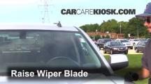 2014 GMC Sierra 1500 SLE 4.3L V6 FlexFuel Crew Cab Pickup Windshield Wiper Blade (Front)