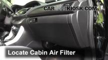 2014 Honda Accord EX-L 3.5L V6 Sedan Air Filter (Cabin)