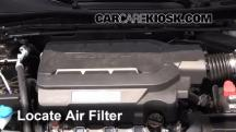 2014 Honda Accord EX-L 3.5L V6 Sedan Air Filter (Engine)