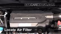 2014 Honda Accord EX-L 3.5L V6 Sedan Filtro de aire (motor)