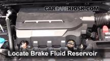 2014 Honda Accord EX-L 3.5L V6 Sedan Brake Fluid
