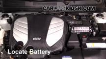 2014 Hyundai Azera Limited 3.3L V6 Battery