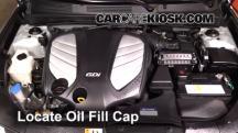 2014 Hyundai Azera Limited 3.3L V6 Oil