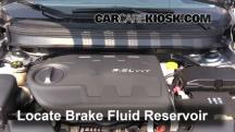 2014 Jeep Cherokee Latitude 3.2L V6 Brake Fluid