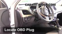 2014 Jeep Cherokee Latitude 3.2L V6 Compruebe la luz del motor
