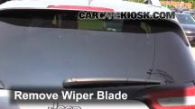 2014 Jeep Cherokee Latitude 3.2L V6 Windshield Wiper Blade (Rear)