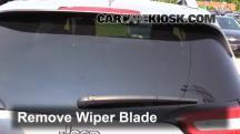 2014 Jeep Cherokee Latitude 3.2L V6 Escobillas de limpiaparabrisas trasero