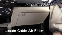2014 Kia Cadenza Premium 3.3L V6 Air Filter (Cabin)