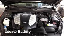 2014 Kia Cadenza Premium 3.3L V6 Battery