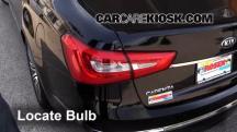 2014 Kia Cadenza Premium 3.3L V6 Lights