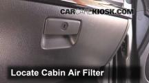 2014 Kia Sorento EX 3.3L V6 Filtro de aire (interior)