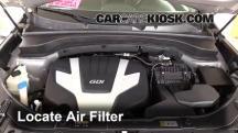2014 Kia Sorento EX 3.3L V6 Filtro de aire (motor)