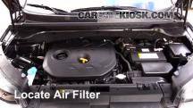 2014 Kia Soul ! 2.0L 4 Cyl. Air Filter (Engine)