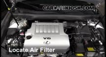 2014 Lexus ES350 3.5L V6 Air Filter (Engine)