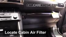 2014 Lexus IS250 2.5L V6 Filtro de aire (interior)