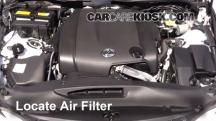 2014 Lexus IS250 2.5L V6 Filtro de aire (motor)
