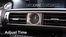 2014 Lexus IS250 2.5L V6 Reloj