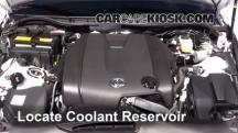 2014 Lexus IS250 2.5L V6 Pérdidas de líquido
