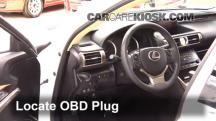 2014 Lexus IS250 2.5L V6 Compruebe la luz del motor