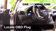 2014 Lexus RX350 3.5L V6 Compruebe la luz del motor
