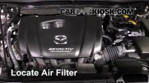 2014 Mazda 3 Touring 2.0L 4 Cyl. Sedan Air Filter (Engine)
