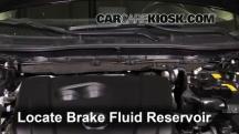 2014 Mazda 3 Touring 2.0L 4 Cyl. Sedan Brake Fluid