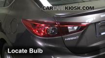 2014 Mazda 3 Touring 2.0L 4 Cyl. Sedan Luces