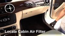 2014 Mercedes-Benz GLK350 4Matic 3.5L V6 Filtro de aire (interior)