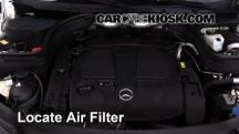 2014 Mercedes-Benz GLK350 4Matic 3.5L V6 Filtro de aire (motor)