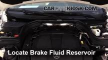 2014 Mercedes-Benz GLK350 4Matic 3.5L V6 Líquido de frenos