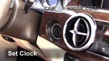 2014 Mercedes-Benz GLK350 4Matic 3.5L V6 Clock