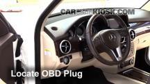 2014 Mercedes-Benz GLK350 4Matic 3.5L V6 Compruebe la luz del motor