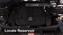 2014 Mercedes-Benz GLK350 4Matic 3.5L V6 Líquido limpiaparabrisas