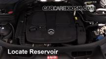 2014 Mercedes-Benz GLK350 4Matic 3.5L V6 Windshield Washer Fluid