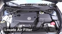 2014 Nissan Altima S 2.5L 4 Cyl. Air Filter (Engine)