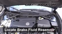 2014 Nissan Altima S 2.5L 4 Cyl. Brake Fluid