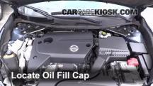 2014 Nissan Altima S 2.5L 4 Cyl. Oil