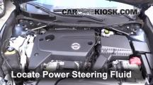 2014 Nissan Altima S 2.5L 4 Cyl. Power Steering Fluid