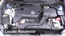 2014 Nissan Altima S 2.5L 4 Cyl. Windshield Washer Fluid
