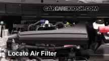 2014 Nissan Rogue SL 2.5L 4 Cyl. Air Filter (Engine)