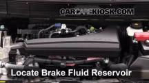 2014 Nissan Rogue SL 2.5L 4 Cyl. Brake Fluid