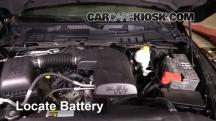 2014 Ram 1500 Big Horn 3.6L V6 FlexFuel Crew Cab Pickup Battery