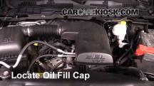 2014 Ram 1500 Big Horn 3.6L V6 FlexFuel Crew Cab Pickup Oil