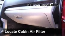2014 Subaru Forester 2.5i Premium 2.5L 4 Cyl. Wagon (4 Door) Filtro de aire (interior)