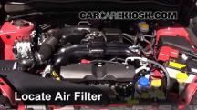 2014 Subaru Forester 2.5i Premium 2.5L 4 Cyl. Wagon (4 Door) Filtro de aire (motor)