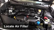 2014 Subaru XV Crosstrek Limited 2.0L 4 Cyl. Air Filter (Engine)
