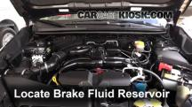 2014 Subaru XV Crosstrek Limited 2.0L 4 Cyl. Brake Fluid